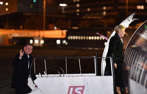 Prezydent wraz z małżonką z wizytą na Litwie