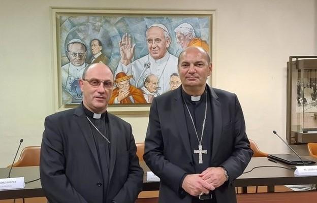 Abp Wojciech Polak i bp Grzegorz Kaszak