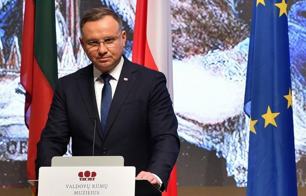 Duda: relacje między Polską a Litwą są szczególne