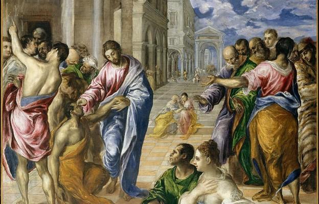 Uzdrowienie niewidomego z Jerycha