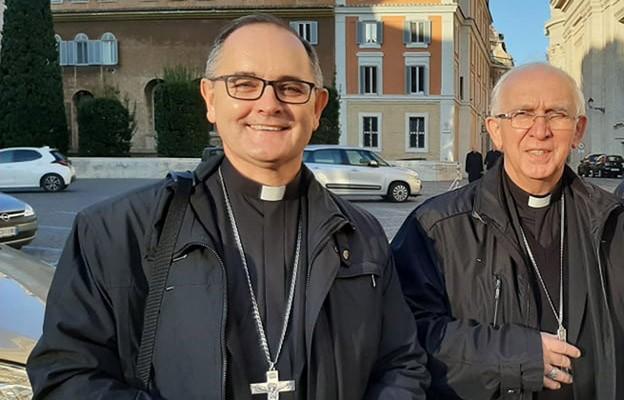 Bp Andrzej Przybylski po wizycie u papieża: Rozmawialiśmy jak synowie z ojcem