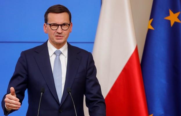 Premier Morawiecki: UE działa w granicach przyznanych jej kompetencji, ostatnio trzeba o tym przypominać