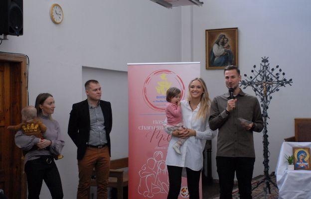 Prelegenci Kongresu, od prawej Marcin i Monika Gomułkowie, od lewej strony organizatorzy Tomasz i Katarzyna Węgrzynowie