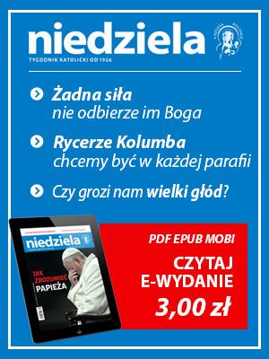 Wydanie elektroniczne Tygodnika Niedziela
